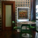 biocamino da parete fuecopared venice decorato