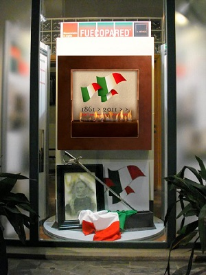 caminetto bioetanolo unita italia fuecopared