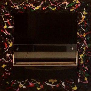 bio fireplace fuecopared pop art