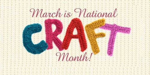 national craft month